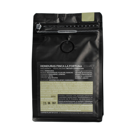 COFFEE PLANT - Honduras La Fortuna 250g