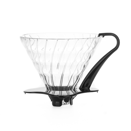 Hario Glass Dripper  V60-03 - Black