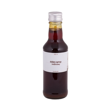 Mount Caramel Dobry Syrop / Good Syrup - Ginger 200 ml