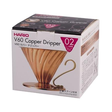 Hario V60-02 Metal dripper - Copper