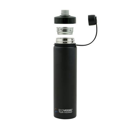 EcoVessel - Insulated Water Bottle Boulder - Teal Lagoon