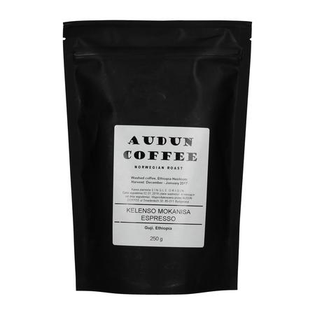 Audun Coffee - Ethiopia Kelenso Mokanisa Espresso