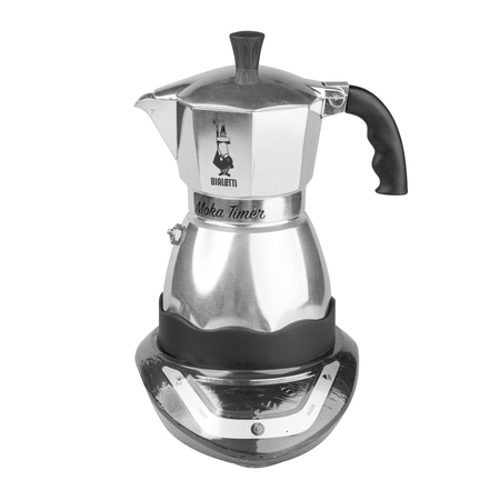 Bialetti Moka Timer 3tz Electric Coffee Pot