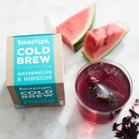 teapigs Watermelon & Hibiscus - Cold Brew 10 tea bags