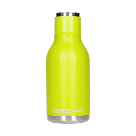 Asobu - Urban Water Bottle Lime - 460ml Travel Bottle (outlet)