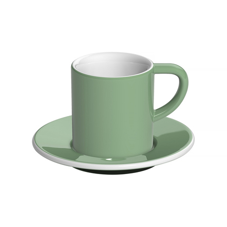 Loveramics Bond - 80 ml Espresso cup and saucer - Mint