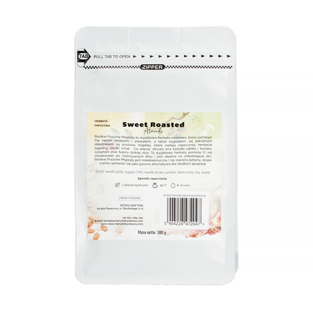 TEA OF THE MONTH: Notes Crafters - Sweet Roasted Almonds Fruit - Loose Tea 100g