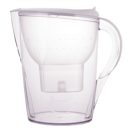 Brita Marella  - 3.5L white jug  +  4 Maxtra cartridges