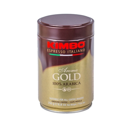 Kimbo Aroma Gold - Ground - Tin 250g