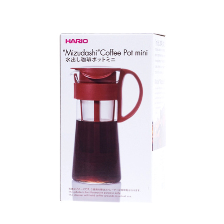 Mizudashi Coffee Pot Cold Brewed New in Box allows to extract full flavor coffee