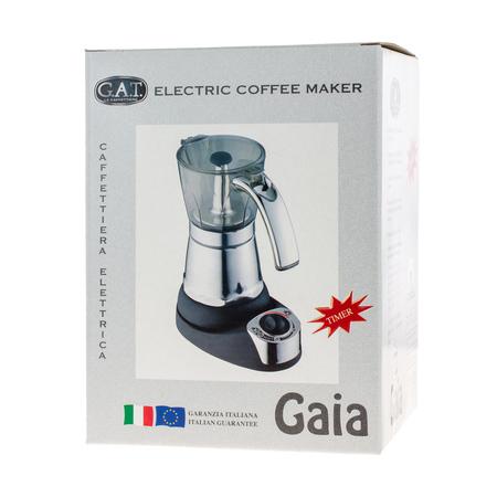 G.A.T. Gaia 6tz - Electric Moka Pot