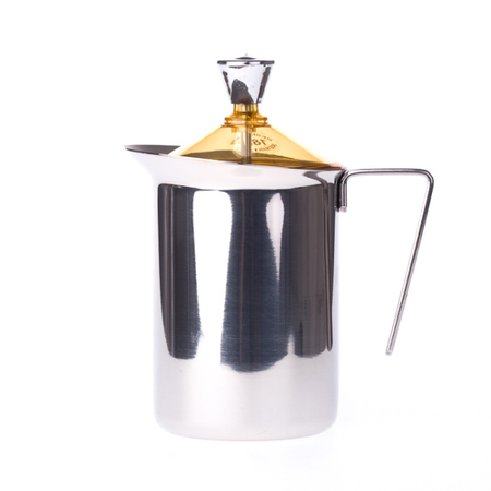 G.A.T. Fantasia Cappuccino - 600 ml Manual Milk Frother  - Yellow