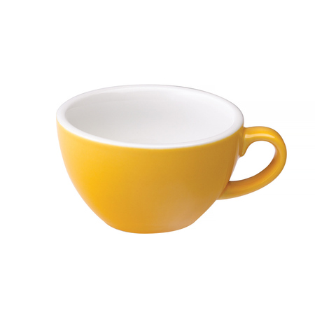 Loveramics Egg - Cappuccino 200 ml Cup and Saucer - Yellow