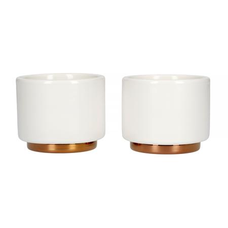 Fellow Monty Espresso Cup - White - 90 ml (3oz) - Set of 2