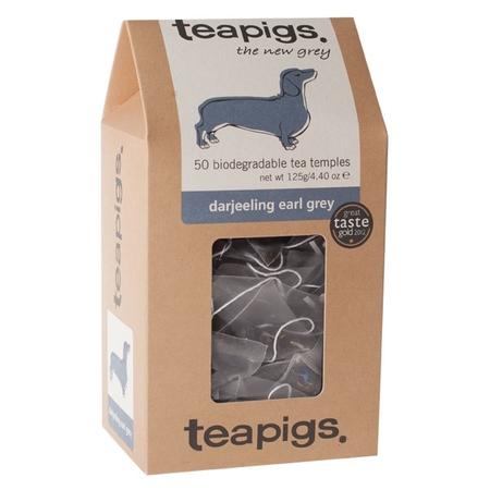 teapigs Darjeeling Earl Grey - 50 Tea Bags