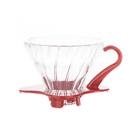Hario Glass Dripper V60-01 - Red