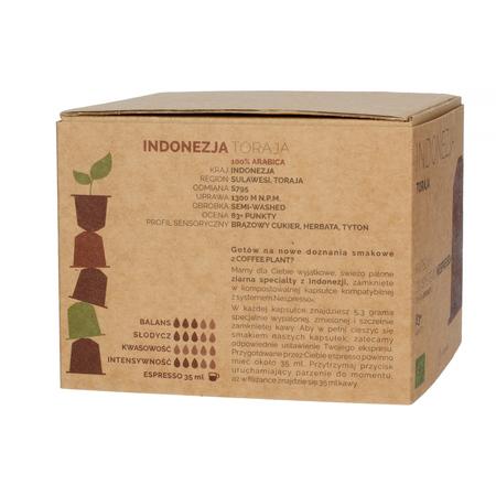 COFFEE PLANT - Indonesia Toraja - 26 capsules