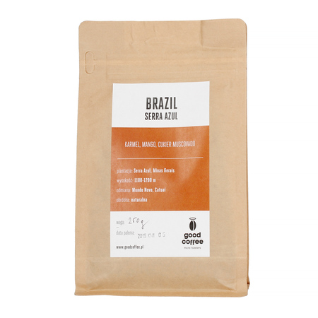 Good Coffee Micro Roasters - Brazil Serra Azul Espresso