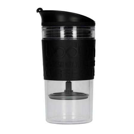37c6354e335 Bodum Travel Press Set With Extra Lid - 350 ml - Black