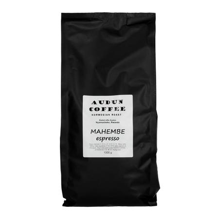 ESPRESSO OF THE MONTH: Audun Coffee - Rwanda Mahembe 1kg