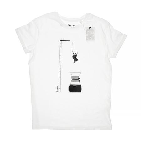 Coffeedesk Chemex Men's White T-shirt - S