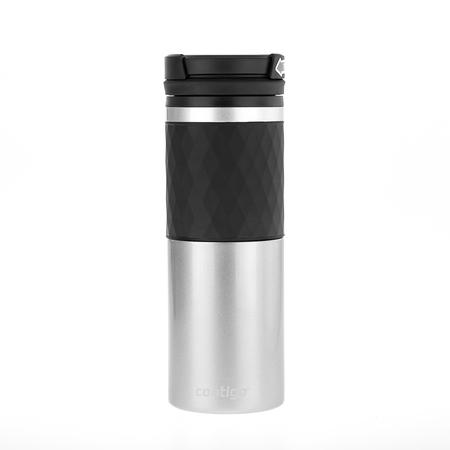 Contigo Glaze Silver - 470 ml Thermal Mug