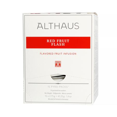 Althaus - Red Fruit Flash Pyra Pack - 15 Tea Pyramids