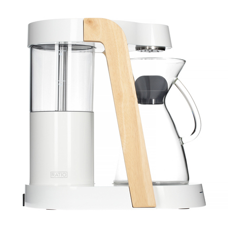 Ratio Eight Coffee Maker White Parawood Coffeedesk