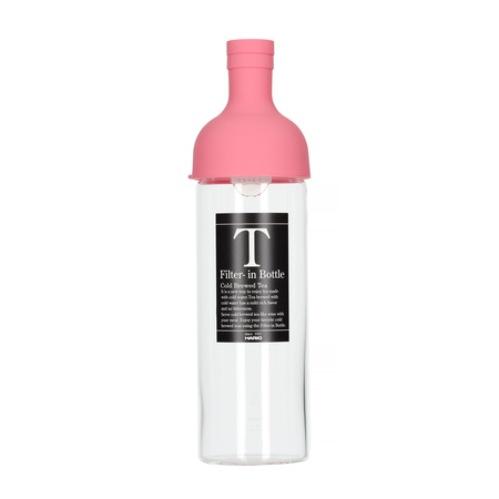 Hario Cold Brew Tea Filter-In Bottle - 750 ml Pink (outlet)