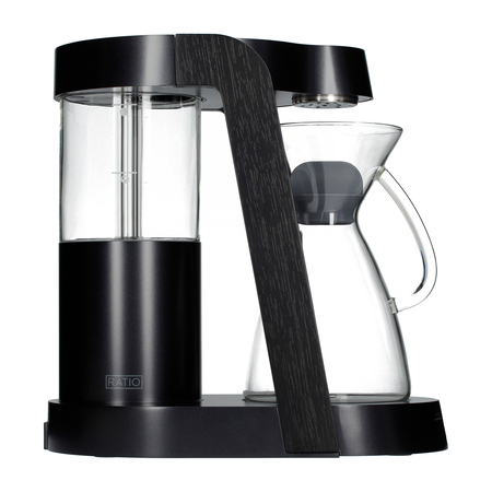 Ratio Eight Coffee Maker Dark Cobalt Ebonized Coffeedesk