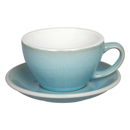 Loveramics Egg - Cafe Latte 300 ml Cup and Saucer  - Ice Blue