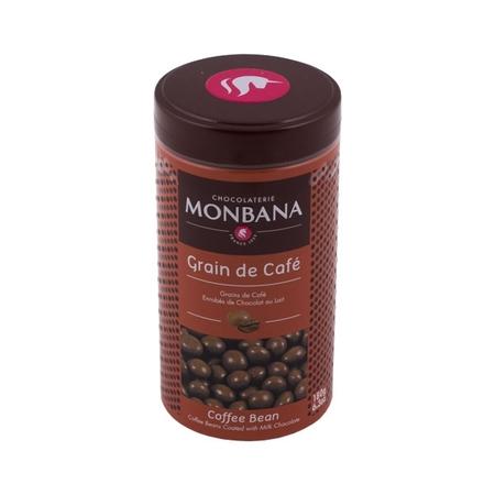 Monbana Coffee Beans in Chocolate - Grain De Cafe