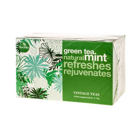 Vintage Teas Green Tea Mint - 30 teabags