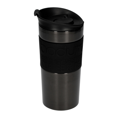 4968a9c7d16 Bodum Travel Mug 350 ml - Gunmetal