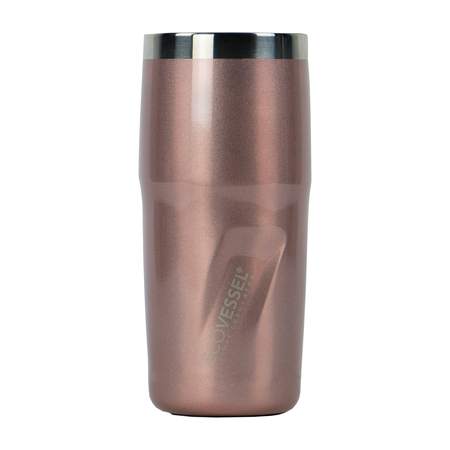 EcoVessel - Metro Insulated Tumbler Mug - Rose Gold 296 ml (outlet)