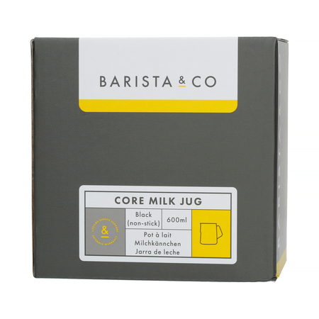 Barista & Co - Core Milk Jug Black - 600 ml