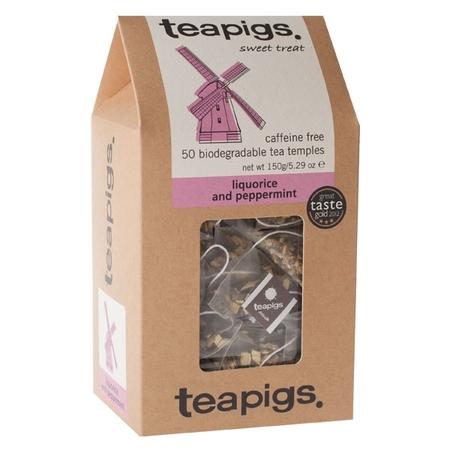 teapigs Liquorice & Peppermint - 50 Tea Bags