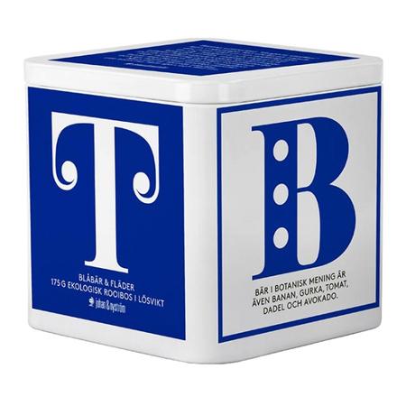 Johan & Nyström - T-TE Blueberry and Elderberry - Loose Tea - Tin