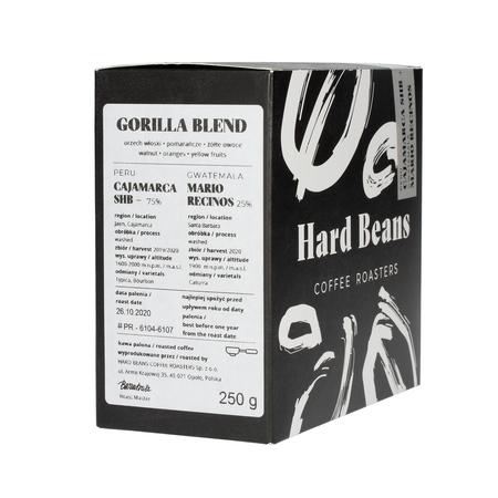 Hard Beans - Gorilla Blend Peru + Guatemala Espresso 250g