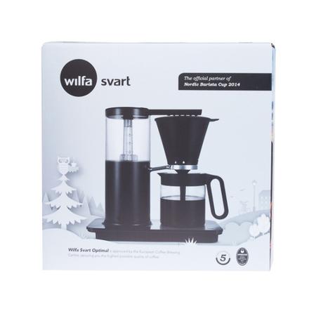 Wilfa Svart Optimal Black WSO-1B - Filter coffee machine