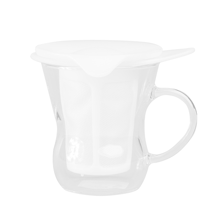 Hario - One Cup Tea Maker - White 200ml