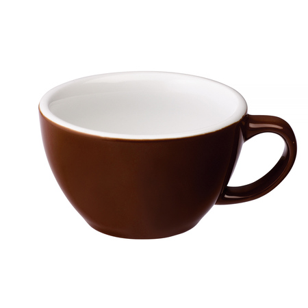 Loveramics Egg - Cafe Latte 300 ml Cup and Saucer - Brown