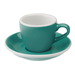 Loveramics Egg - Espresso 80 ml Cup and Saucer  - Teal