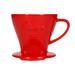 Melitta - Porcelain coffee filter (dripper) 102 - Red