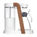 Ratio Eight Coffee Maker - White / Walnut
