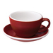 Loveramics Egg - Cafe Latte 300 ml Cup and Saucer - Red