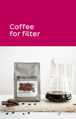 Coffee for filter